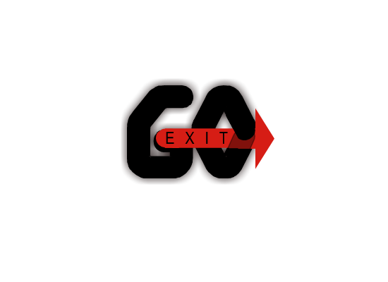 Logo Design by Sherrajoy Gonzales - Entry No. 22 in the Logo Design Contest GoExit Logo Design.