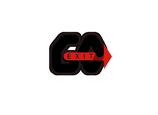 Logo Design by Sherrajoy Gonzales - Entry No. 22 in the Logo Design Contest GoExit Logo Design.