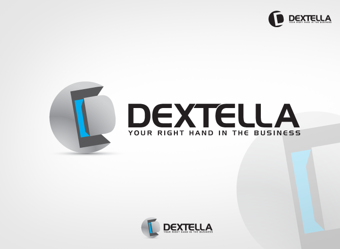 Logo Design by Jan Chua - Entry No. 73 in the Logo Design Contest Unique Logo Design Wanted for Dextella s.r.o..