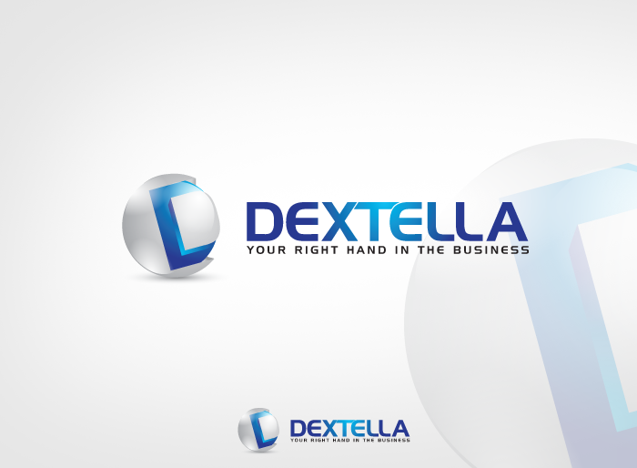 Logo Design by Jan Chua - Entry No. 79 in the Logo Design Contest Unique Logo Design Wanted for Dextella s.r.o..