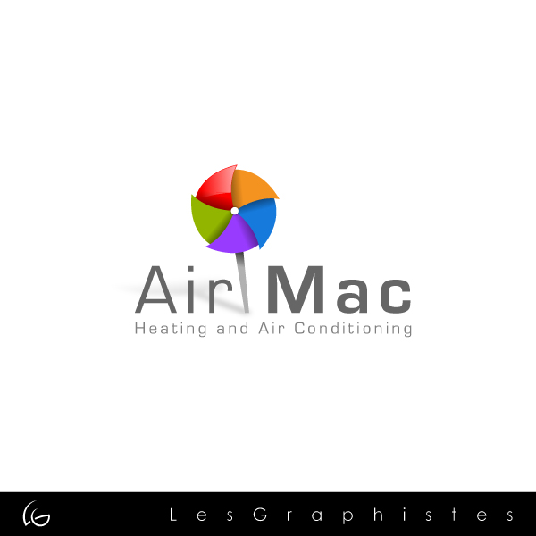 Logo Design by Les-Graphistes - Entry No. 103 in the Logo Design Contest Unique Logo Design Wanted for Air Mac.
