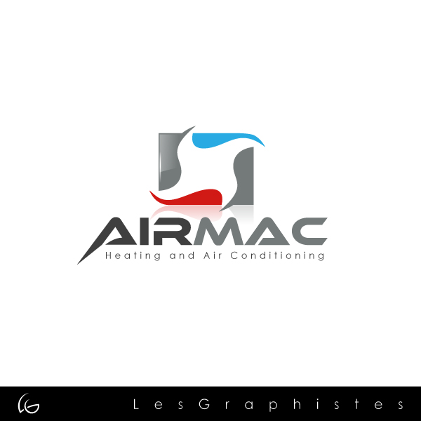 Logo Design by Les-Graphistes - Entry No. 104 in the Logo Design Contest Unique Logo Design Wanted for Air Mac.