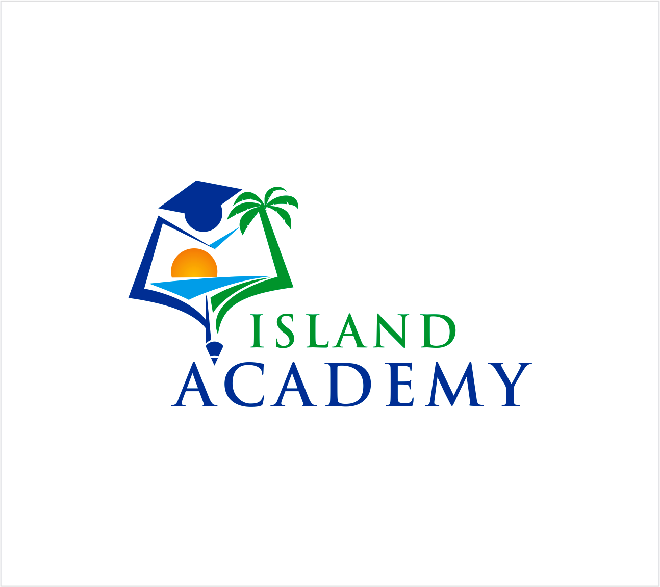 Logo Design by Armada Jamaluddin - Entry No. 58 in the Logo Design Contest New Logo Design for Island Academy.