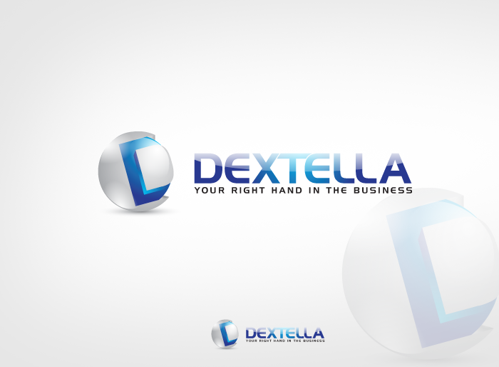 Logo Design by Jan Chua - Entry No. 86 in the Logo Design Contest Unique Logo Design Wanted for Dextella s.r.o..