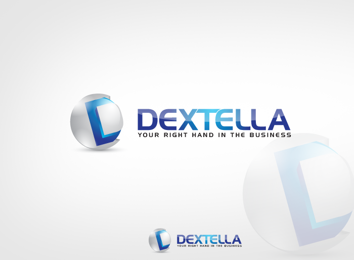 Logo Design by Jan Chua - Entry No. 87 in the Logo Design Contest Unique Logo Design Wanted for Dextella s.r.o..