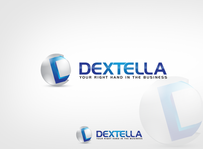 Logo Design by Jan Chua - Entry No. 88 in the Logo Design Contest Unique Logo Design Wanted for Dextella s.r.o..