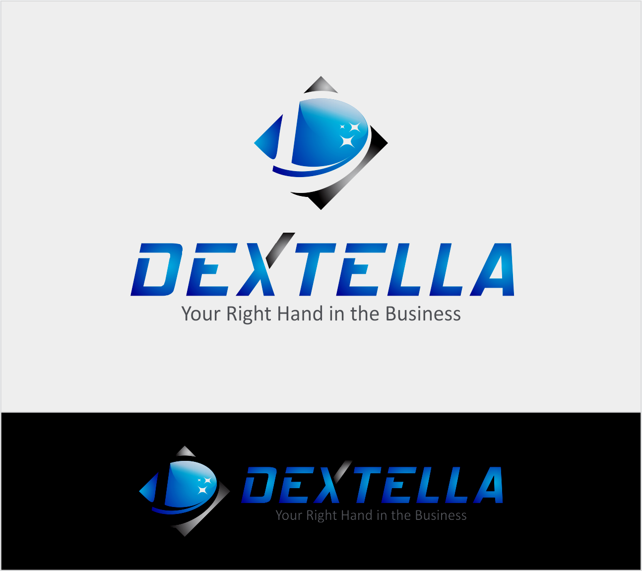 Logo Design by Armada Jamaluddin - Entry No. 89 in the Logo Design Contest Unique Logo Design Wanted for Dextella s.r.o..