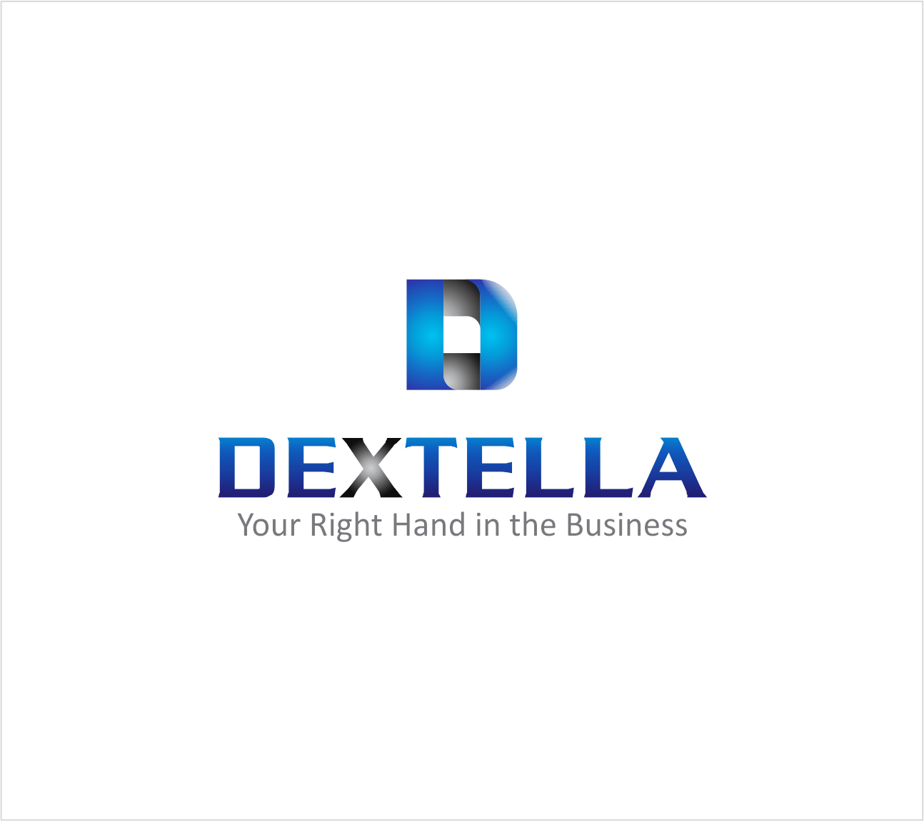 Logo Design by Armada Jamaluddin - Entry No. 90 in the Logo Design Contest Unique Logo Design Wanted for Dextella s.r.o..