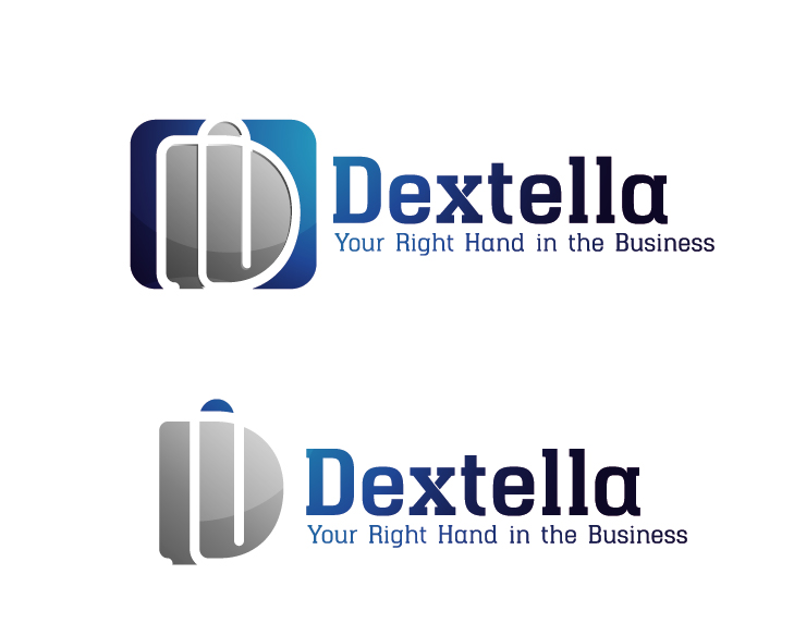 Logo Design by VENTSISLAV KOVACHEV - Entry No. 91 in the Logo Design Contest Unique Logo Design Wanted for Dextella s.r.o..