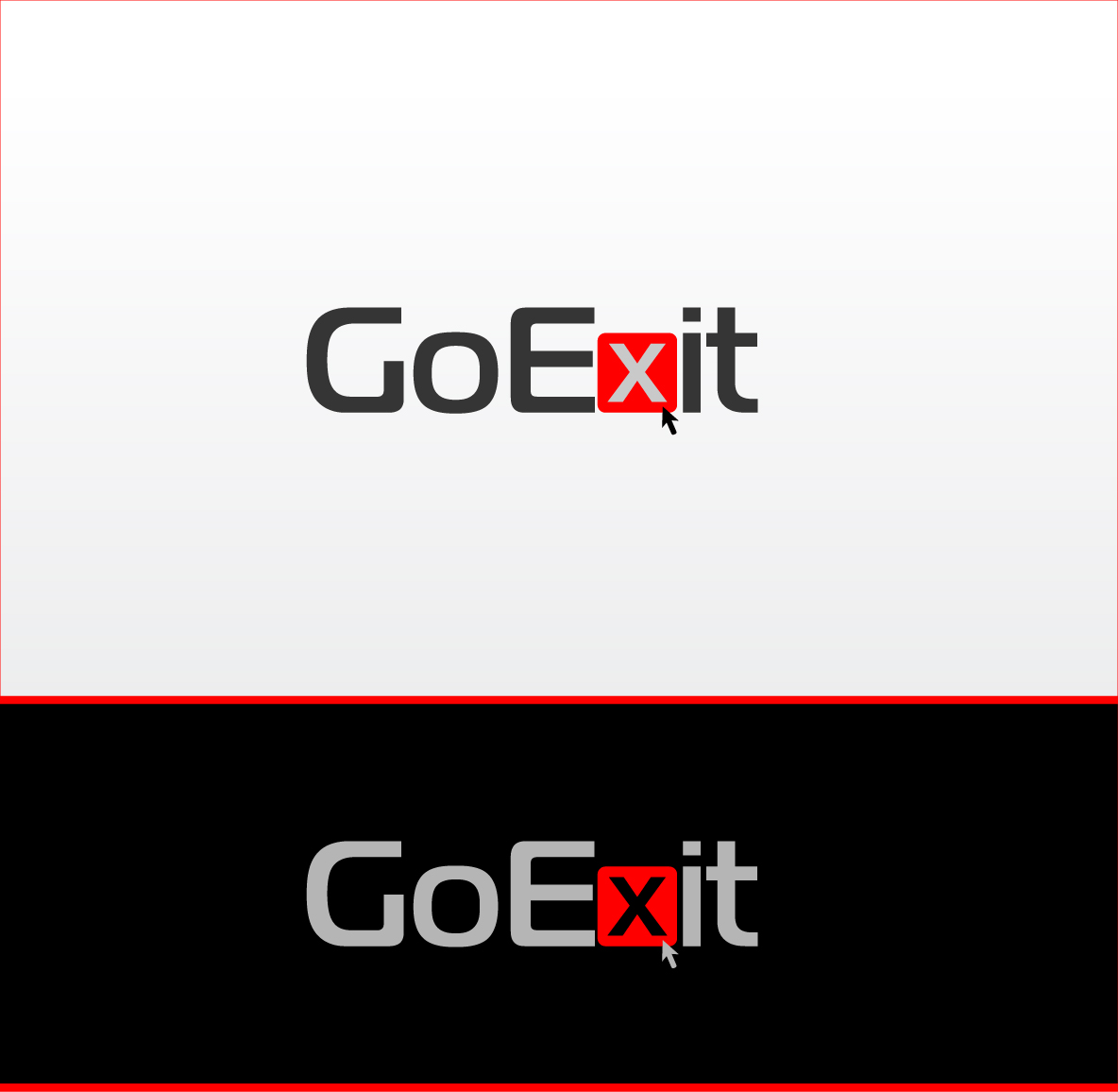 Logo Design by zoiDesign - Entry No. 25 in the Logo Design Contest GoExit Logo Design.