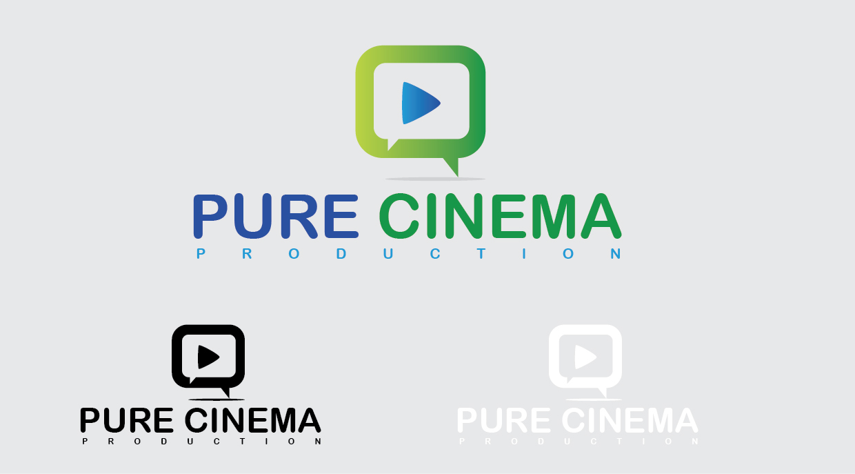 Logo Design by mediaproductionart - Entry No. 17 in the Logo Design Contest Imaginative Logo Design for Pure Cinema.