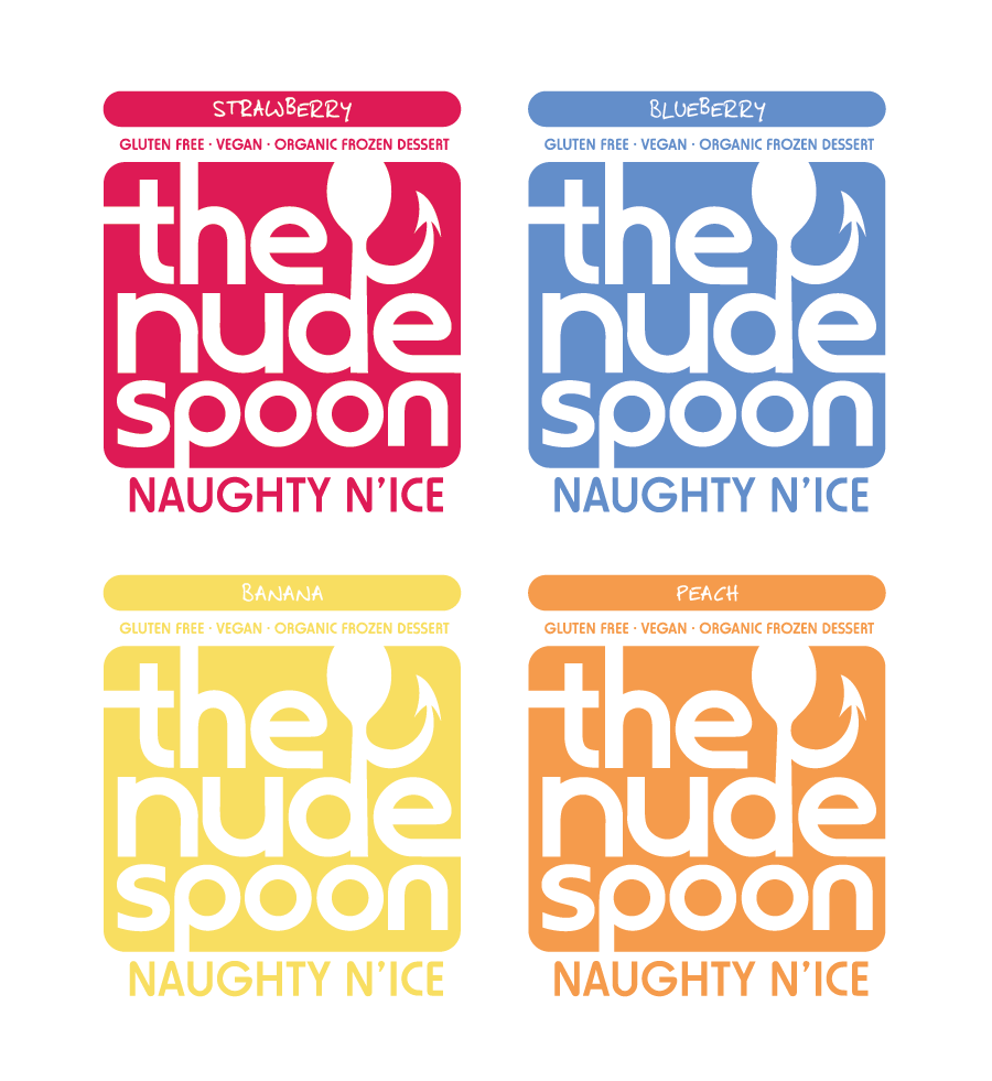 Logo Design by Christina Evans - Entry No. 48 in the Logo Design Contest Captivating Logo Design for The Nude Spoon.