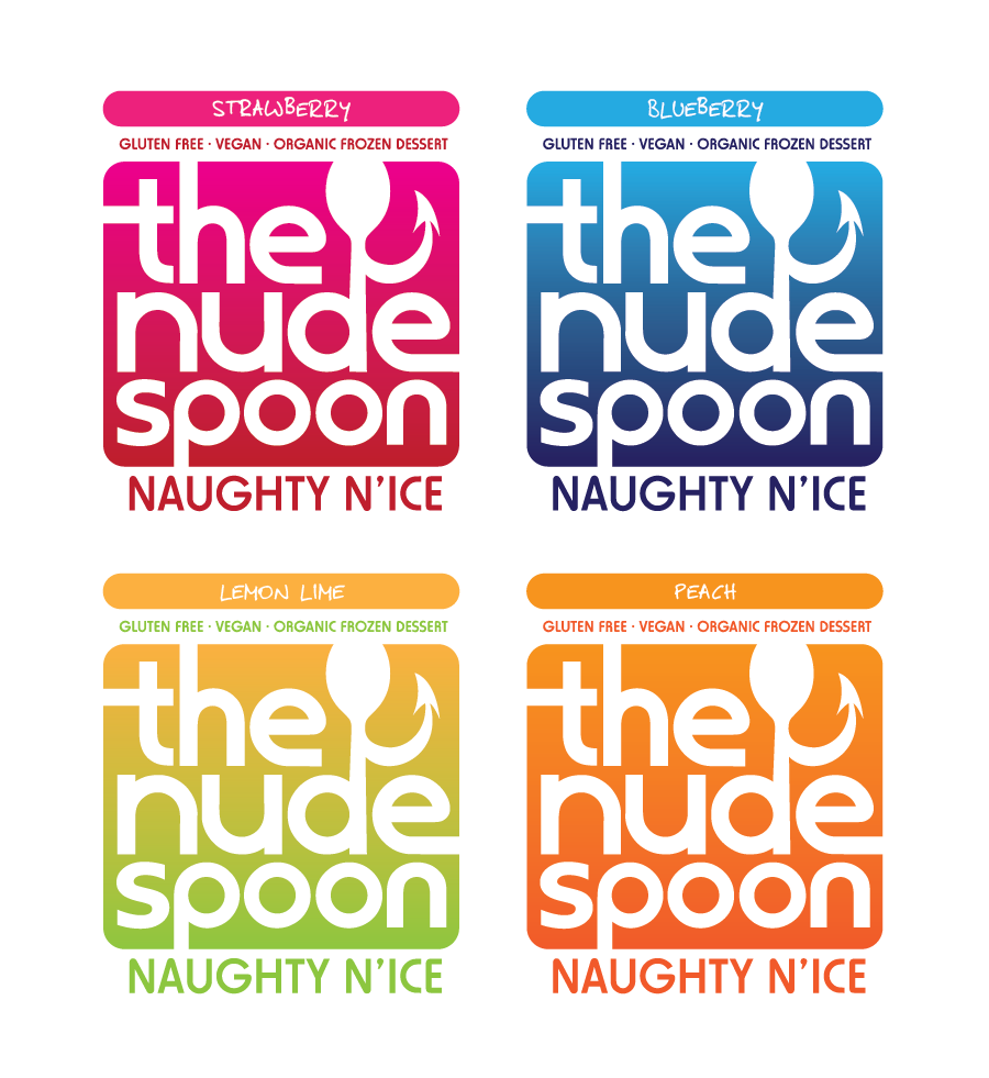 Logo Design by Christina Evans - Entry No. 49 in the Logo Design Contest Captivating Logo Design for The Nude Spoon.