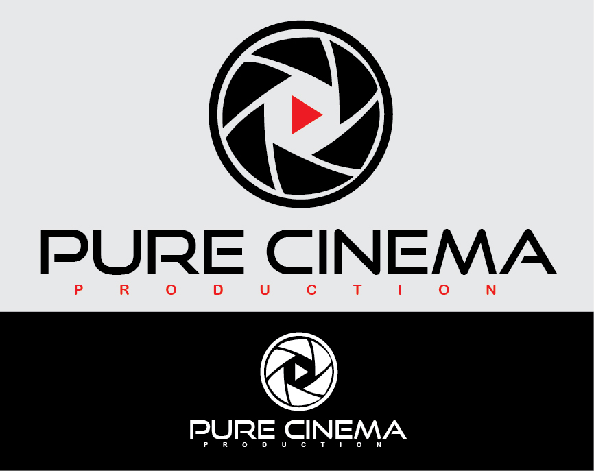 Logo Design by mediaproductionart - Entry No. 22 in the Logo Design Contest Imaginative Logo Design for Pure Cinema.