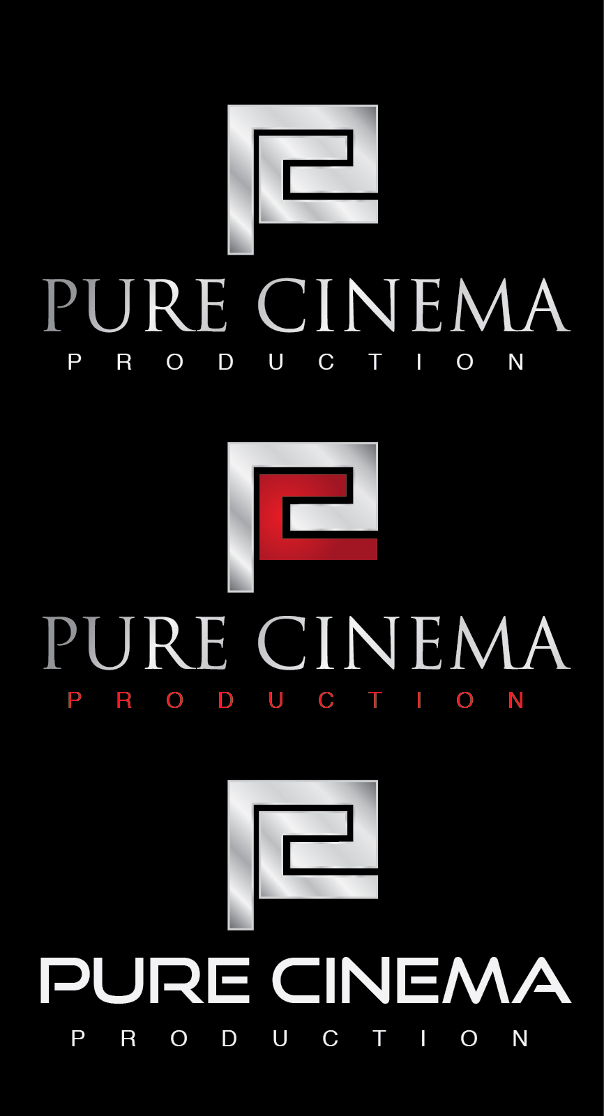 Logo Design by mediaproductionart - Entry No. 23 in the Logo Design Contest Imaginative Logo Design for Pure Cinema.