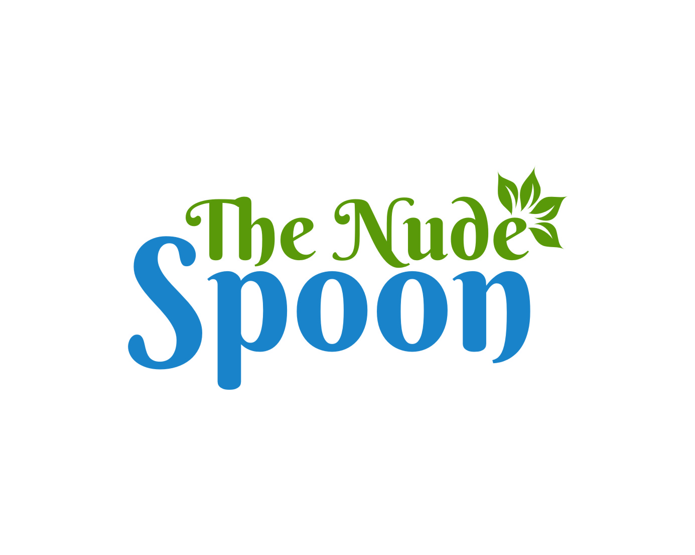 Logo Design by Ngepet_art - Entry No. 50 in the Logo Design Contest Captivating Logo Design for The Nude Spoon.
