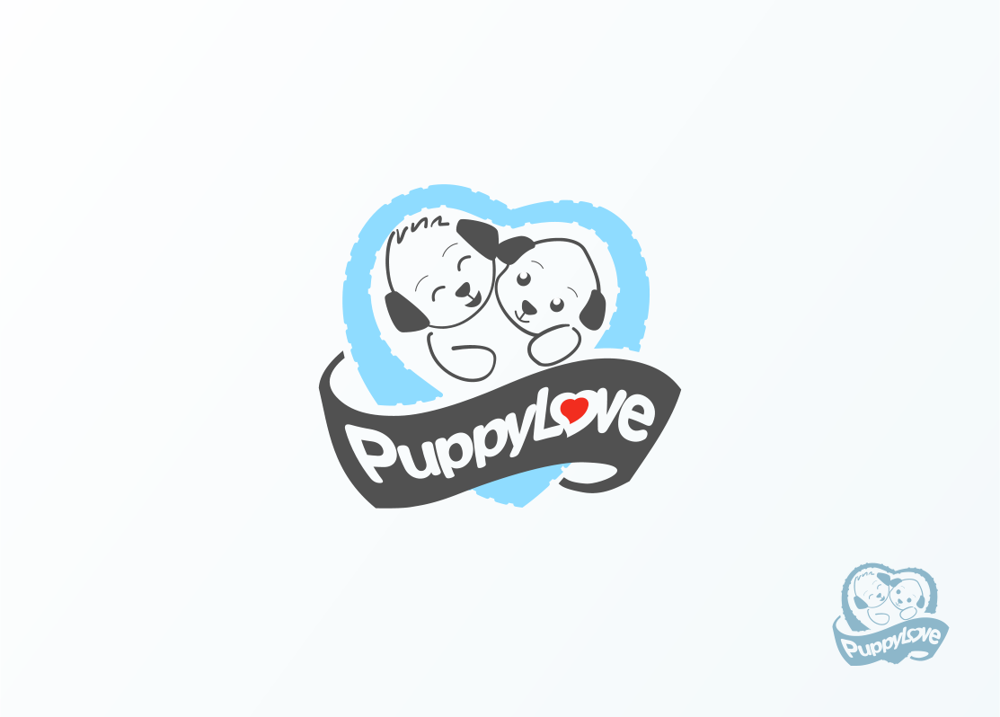 Logo Design by Jorge Sardon - Entry No. 28 in the Logo Design Contest Artistic Logo Design for Puppy Love Towels.