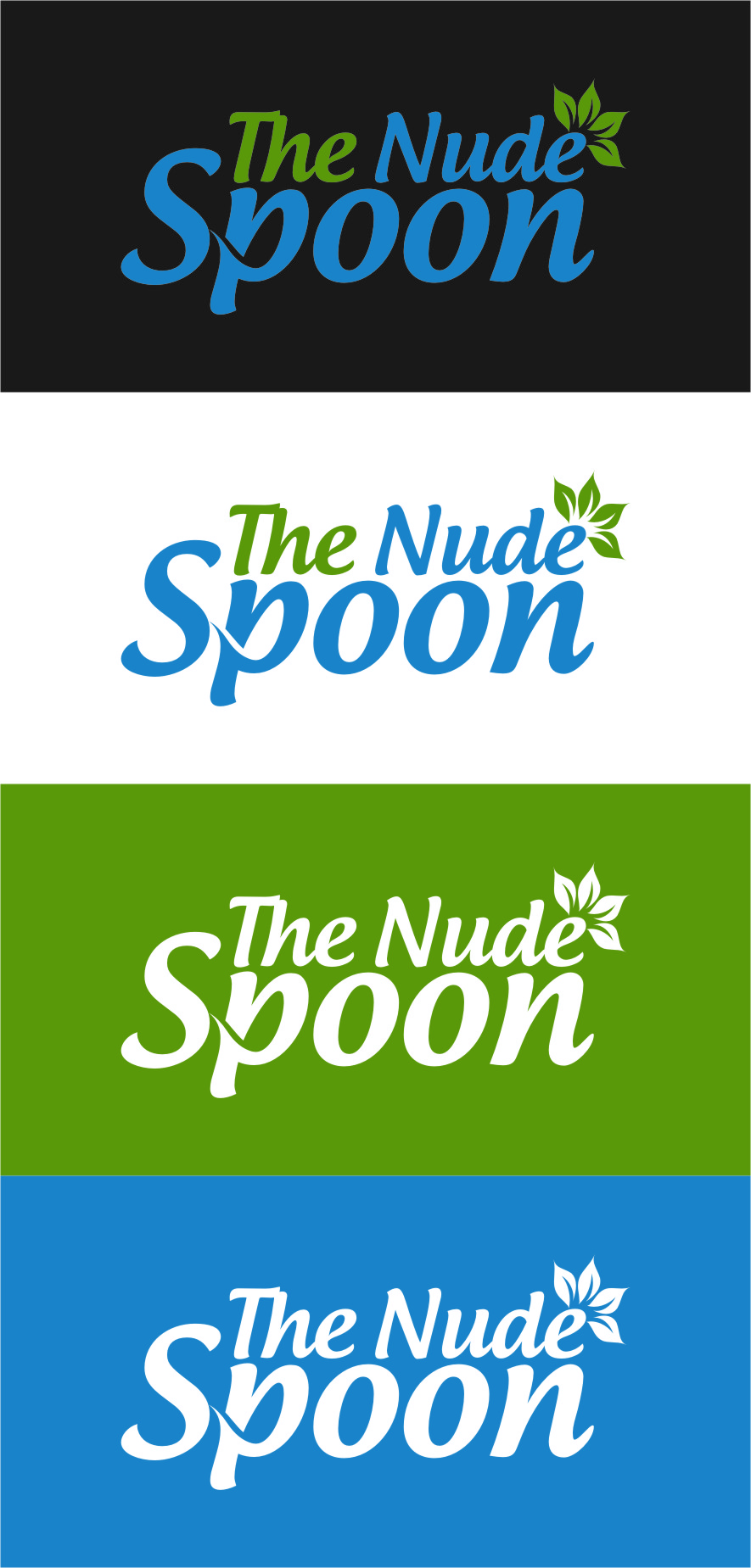 Logo Design by RoSyid Rono-Rene On Java - Entry No. 51 in the Logo Design Contest Captivating Logo Design for The Nude Spoon.