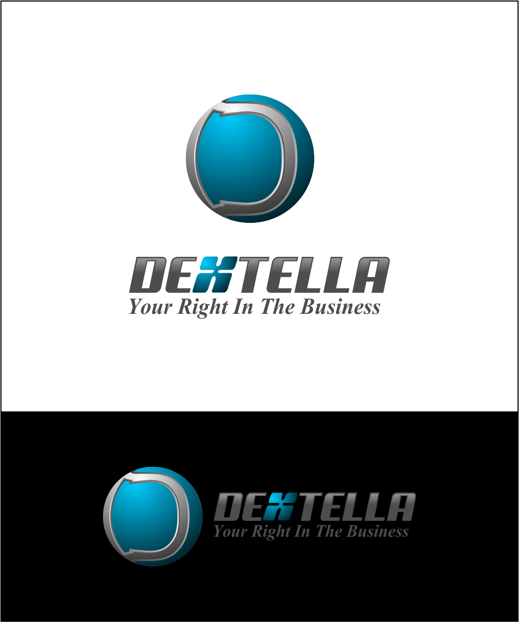Logo Design by Agus Martoyo - Entry No. 94 in the Logo Design Contest Unique Logo Design Wanted for Dextella s.r.o..