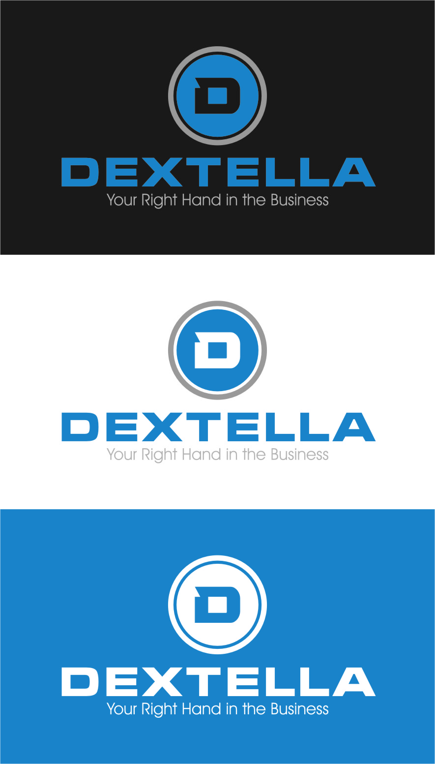 Logo Design by RasYa Muhammad Athaya - Entry No. 95 in the Logo Design Contest Unique Logo Design Wanted for Dextella s.r.o..