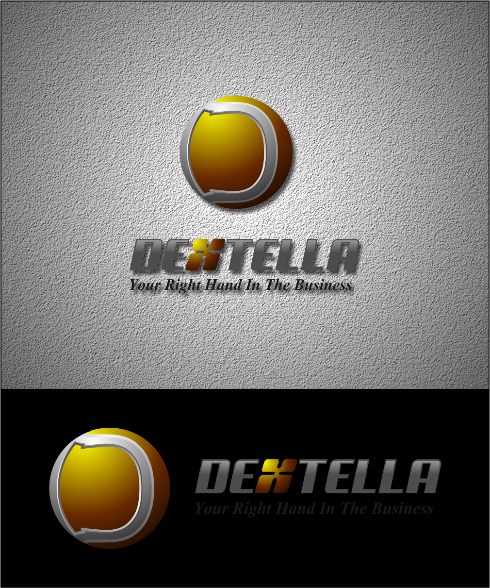 Logo Design by Agus Martoyo - Entry No. 96 in the Logo Design Contest Unique Logo Design Wanted for Dextella s.r.o..