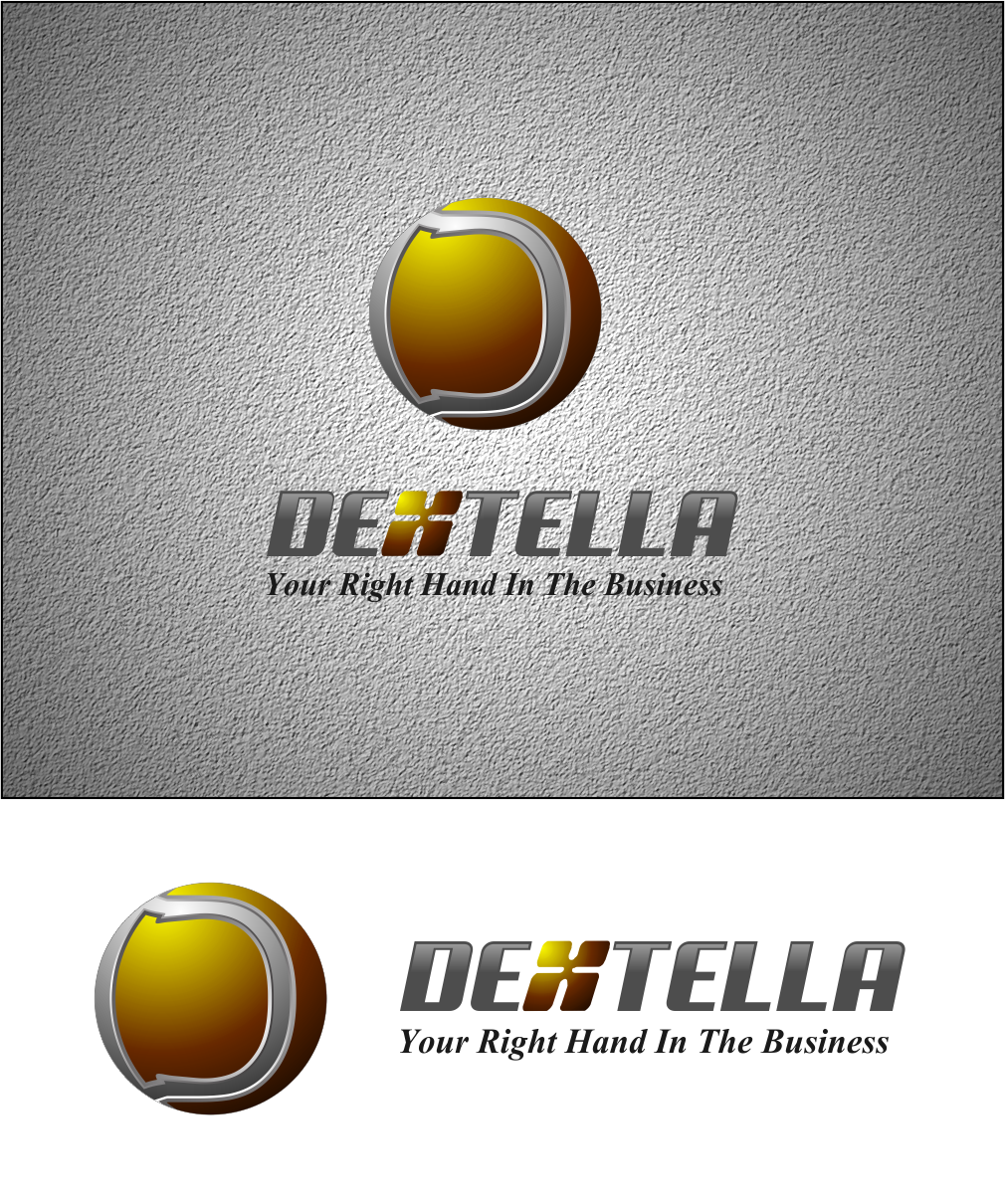 Logo Design by Agus Martoyo - Entry No. 97 in the Logo Design Contest Unique Logo Design Wanted for Dextella s.r.o..