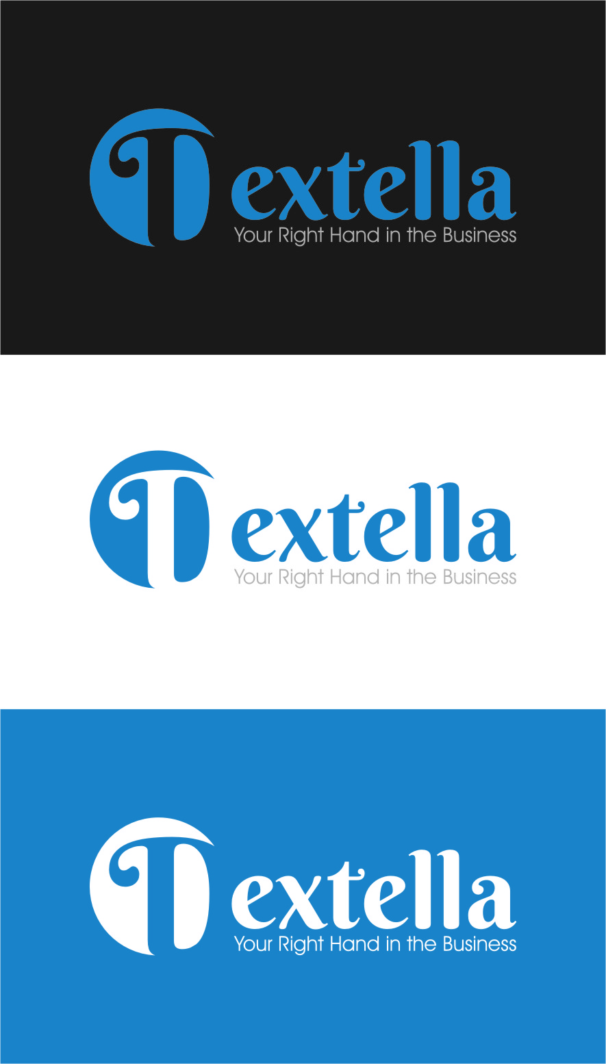 Logo Design by Ngepet_art - Entry No. 101 in the Logo Design Contest Unique Logo Design Wanted for Dextella s.r.o..