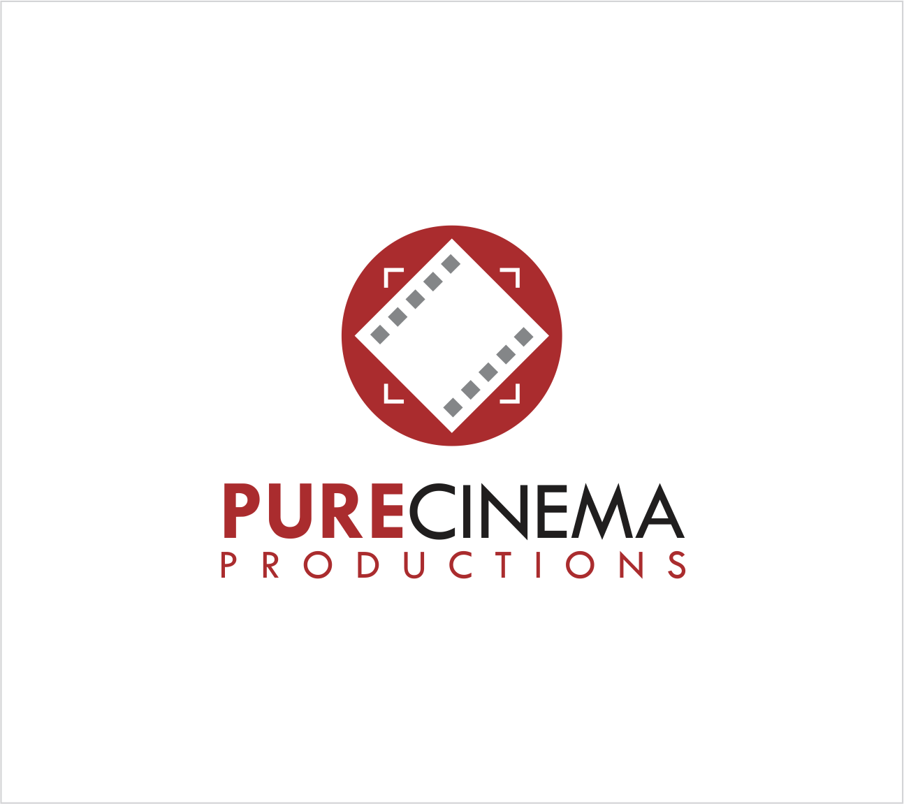 Logo Design by Armada Jamaluddin - Entry No. 25 in the Logo Design Contest Imaginative Logo Design for Pure Cinema.