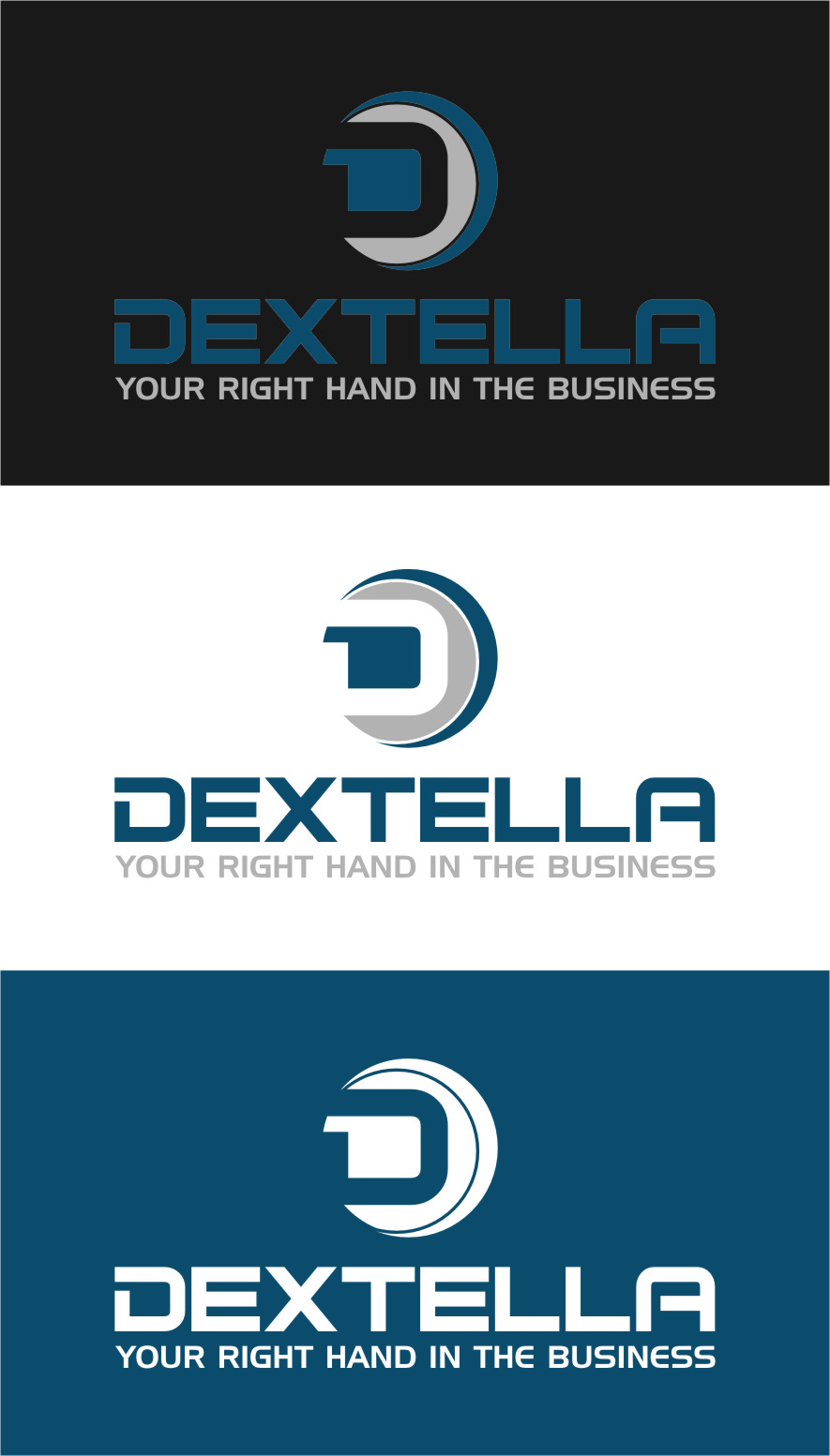 Logo Design by Ngepet_art - Entry No. 102 in the Logo Design Contest Unique Logo Design Wanted for Dextella s.r.o..