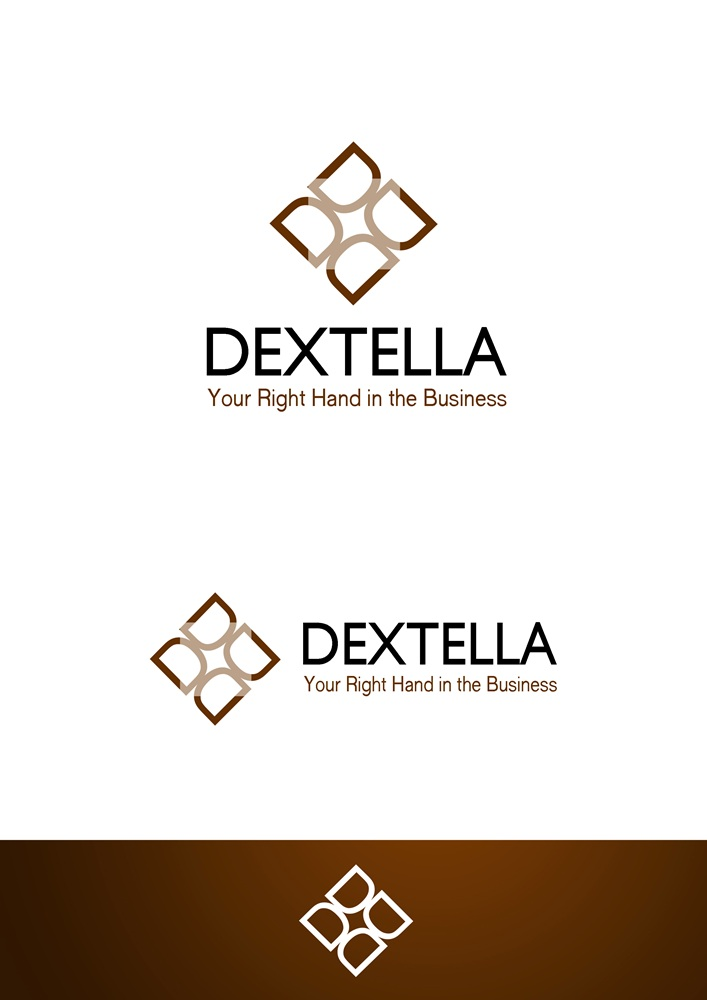 Logo Design by Fita Tiara Sani - Entry No. 103 in the Logo Design Contest Unique Logo Design Wanted for Dextella s.r.o..