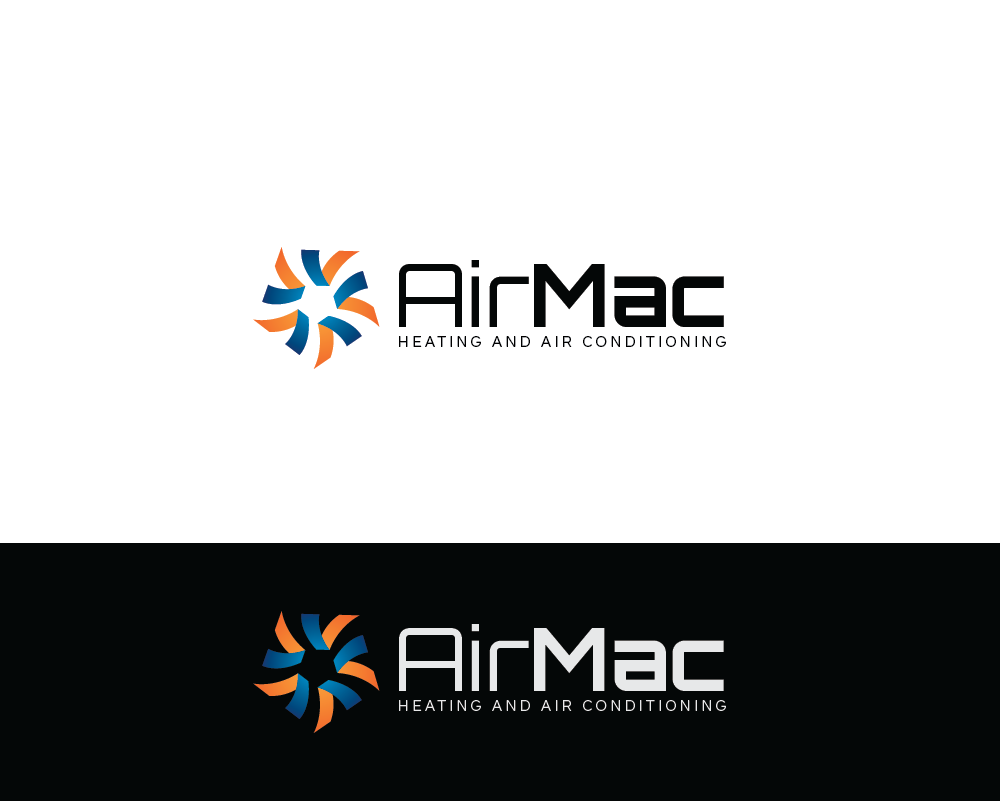 Logo Design by roc - Entry No. 113 in the Logo Design Contest Unique Logo Design Wanted for Air Mac.