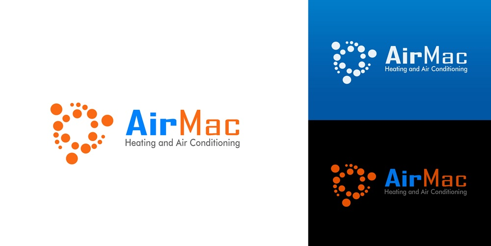 Logo Design by Fita Tiara Sani - Entry No. 118 in the Logo Design Contest Unique Logo Design Wanted for Air Mac.
