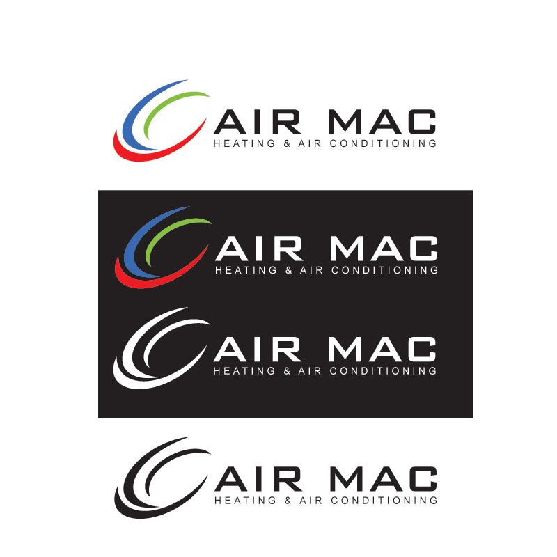 Logo Design by Private User - Entry No. 120 in the Logo Design Contest Unique Logo Design Wanted for Air Mac.