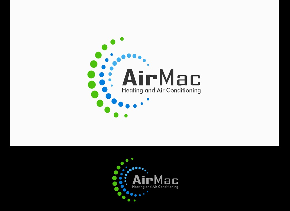 Logo Design by Fita Tiara Sani - Entry No. 121 in the Logo Design Contest Unique Logo Design Wanted for Air Mac.
