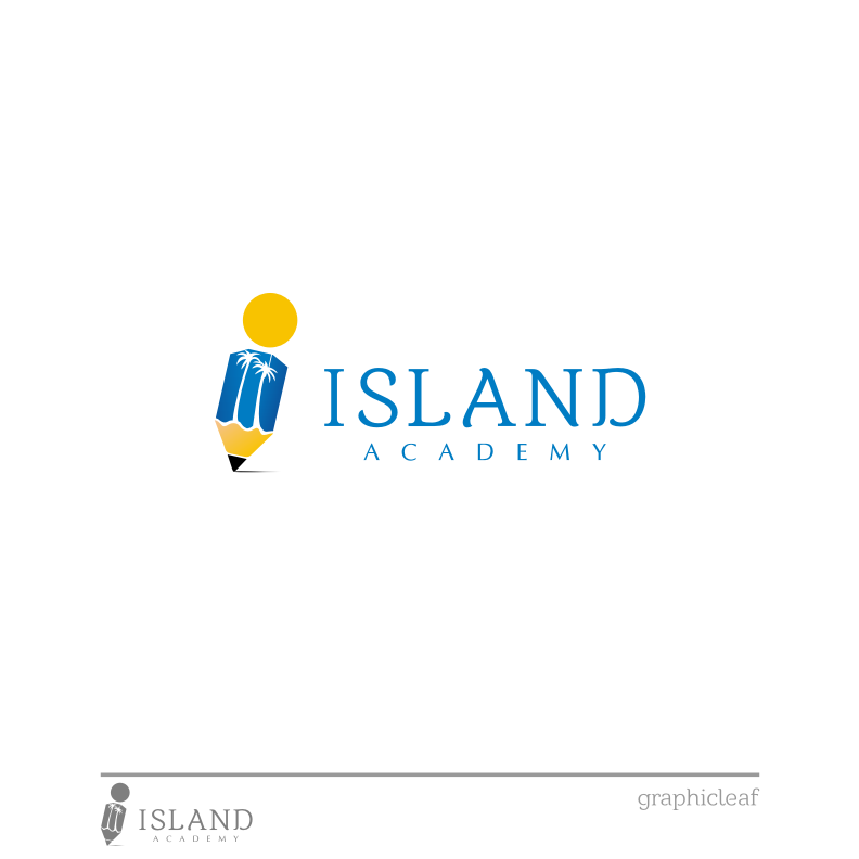 Logo Design by graphicleaf - Entry No. 66 in the Logo Design Contest New Logo Design for Island Academy.