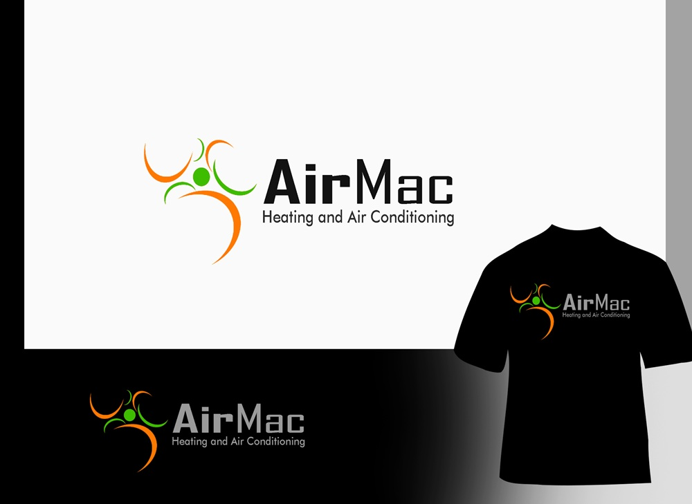 Logo Design by Fita Tiara Sani - Entry No. 126 in the Logo Design Contest Unique Logo Design Wanted for Air Mac.