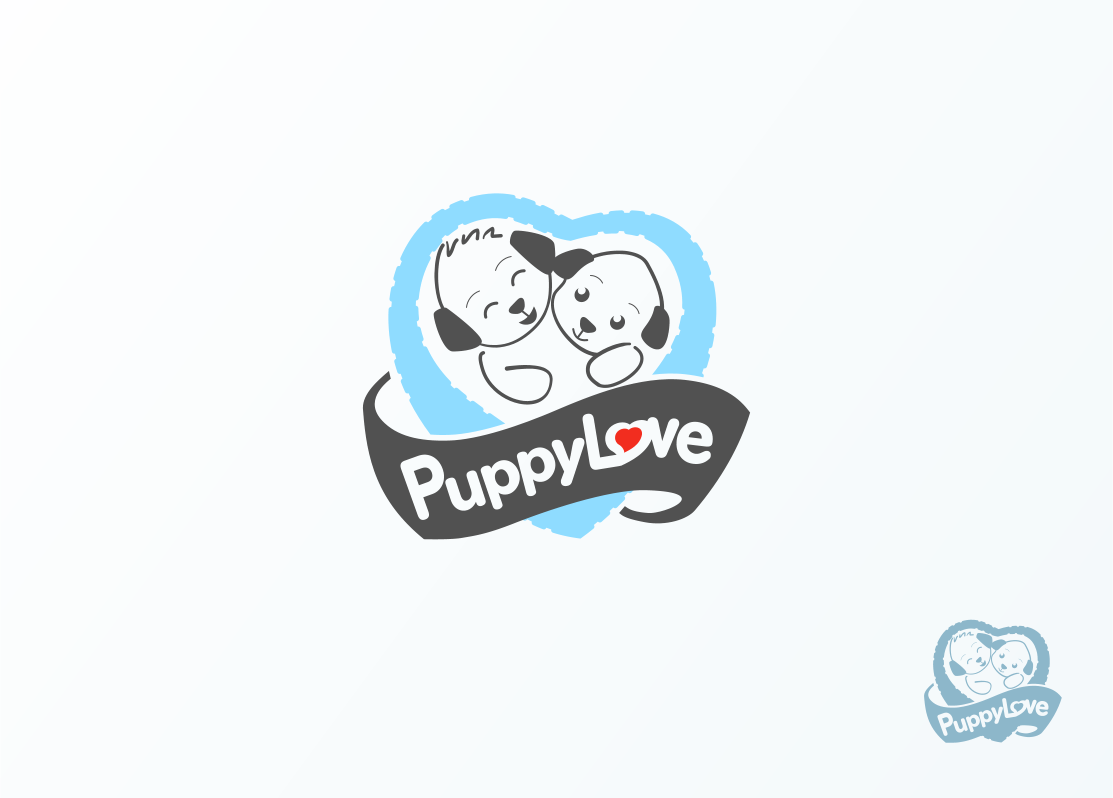 Logo Design by Jorge Sardon - Entry No. 29 in the Logo Design Contest Artistic Logo Design for Puppy Love Towels.