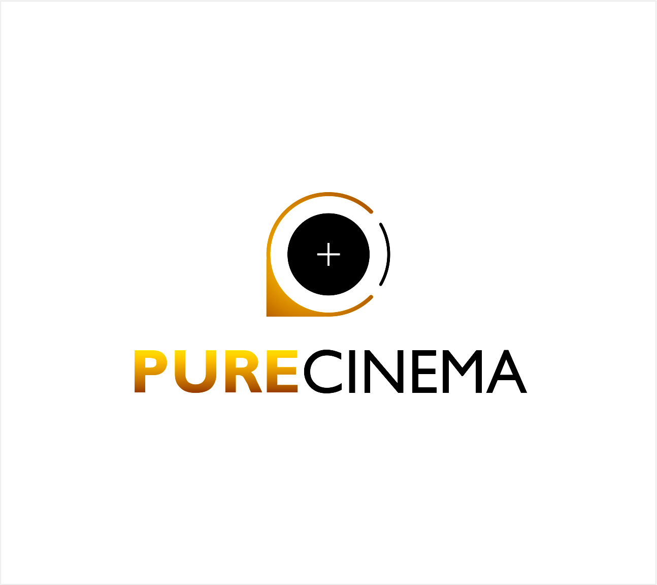 Logo Design by Armada Jamaluddin - Entry No. 31 in the Logo Design Contest Imaginative Logo Design for Pure Cinema.