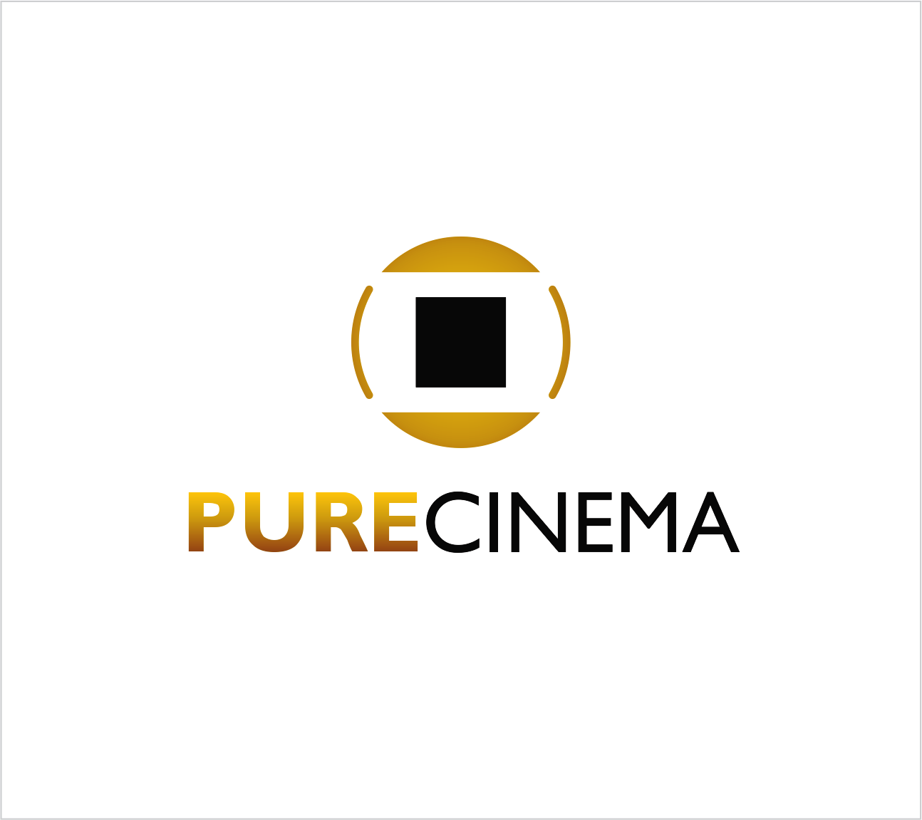 Logo Design by Armada Jamaluddin - Entry No. 32 in the Logo Design Contest Imaginative Logo Design for Pure Cinema.