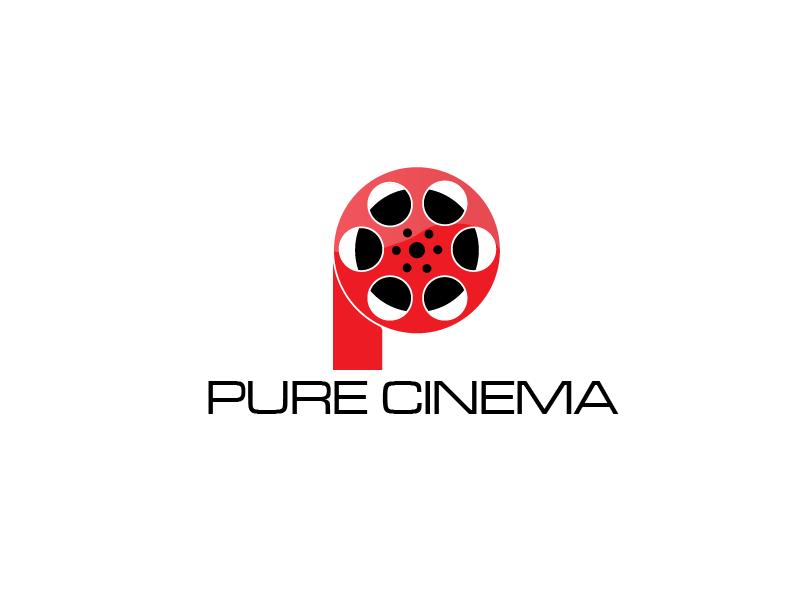 Logo Design by brands_in - Entry No. 33 in the Logo Design Contest Imaginative Logo Design for Pure Cinema.