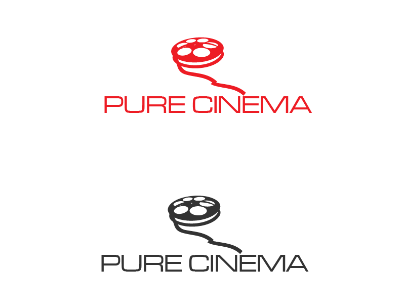 Logo Design by brands_in - Entry No. 34 in the Logo Design Contest Imaginative Logo Design for Pure Cinema.