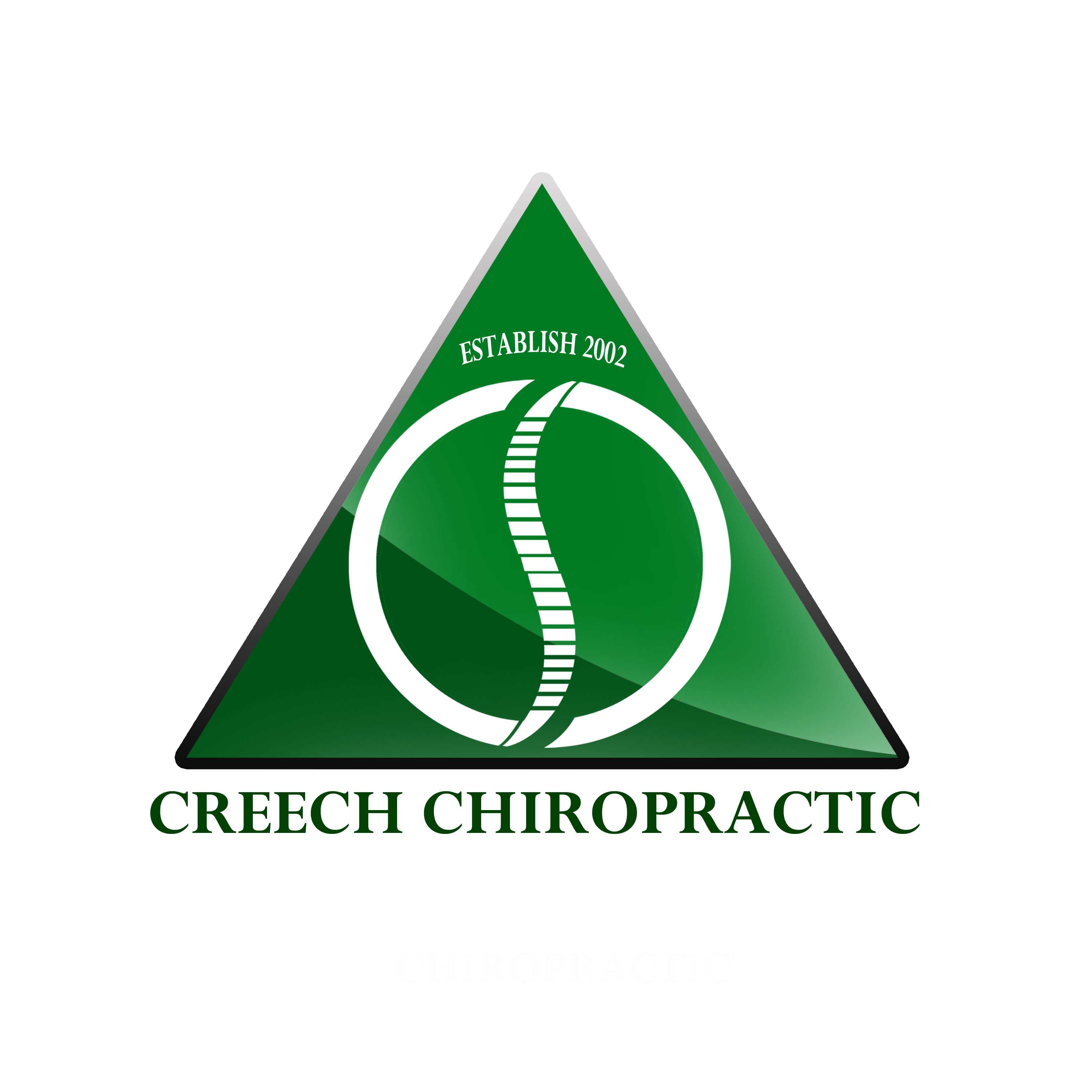 Logo Design by Allan Esclamado - Entry No. 8 in the Logo Design Contest Imaginative Logo Design for Creech Chiropractic.