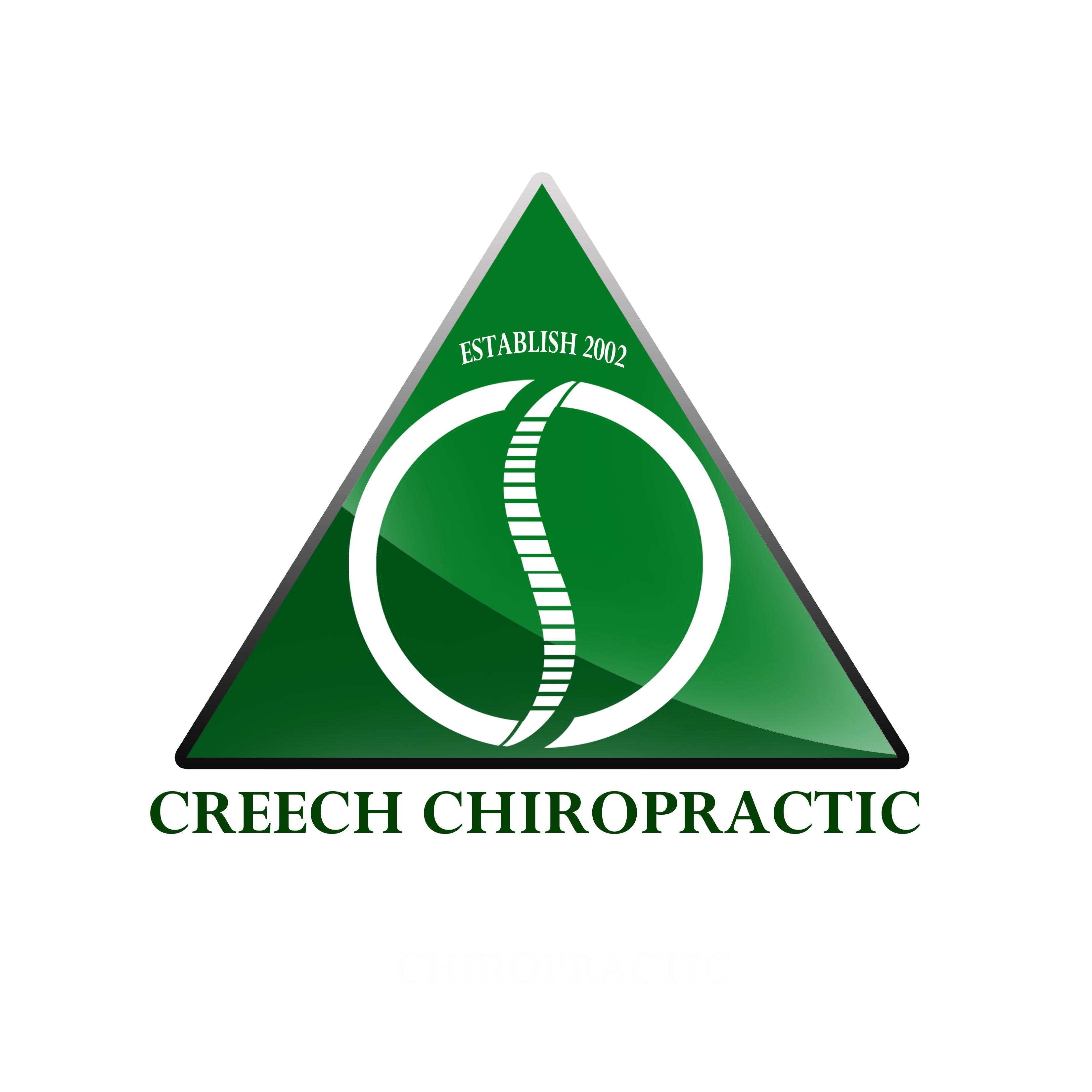 Logo Design by Allan Esclamado - Entry No. 8 in the Logo Design Contest Imaginative Logo Design for Creech Chiropractic.