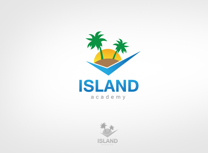 Logo Design by Jan Chua - Entry No. 85 in the Logo Design Contest New Logo Design for Island Academy.