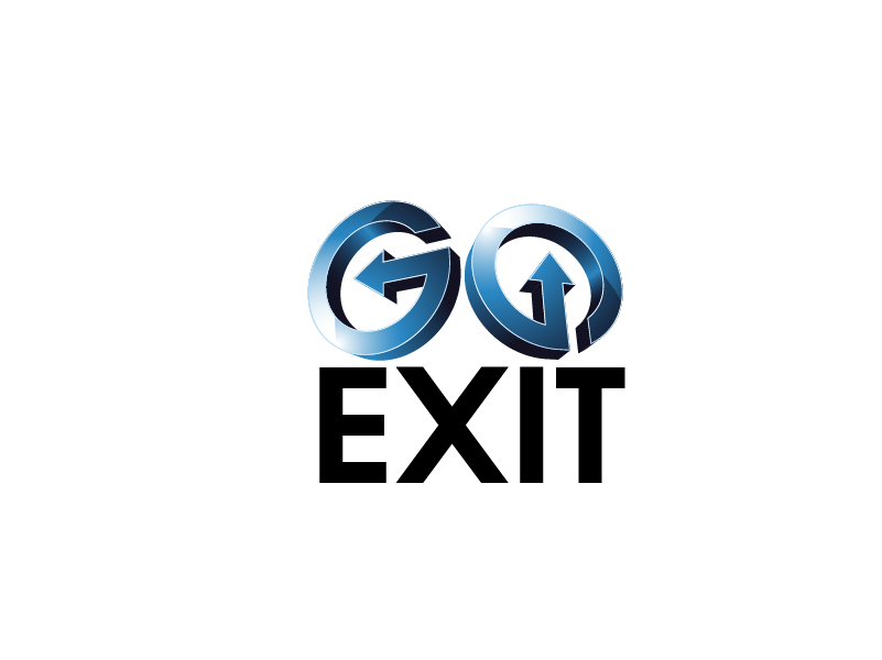 Logo Design by brands_in - Entry No. 37 in the Logo Design Contest GoExit Logo Design.