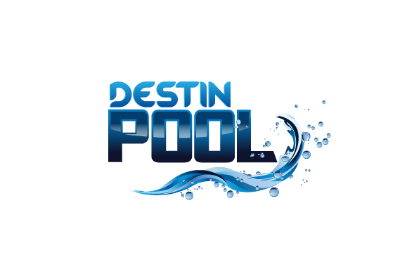 Logo design contests fun logo design for destin pools for Pool design graphic