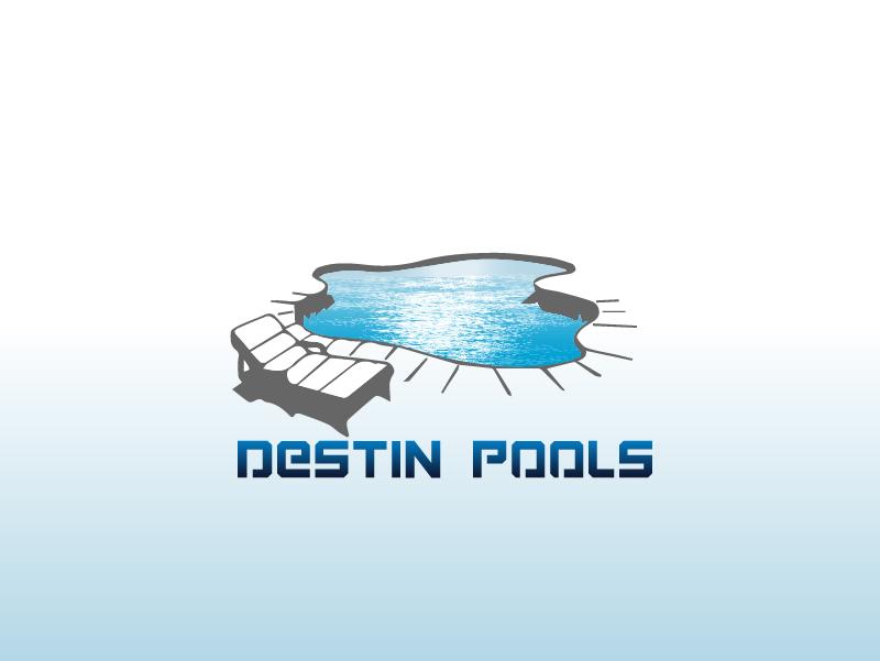 Logo Design by brands_in - Entry No. 48 in the Logo Design Contest Fun Logo Design for Destin Pools.