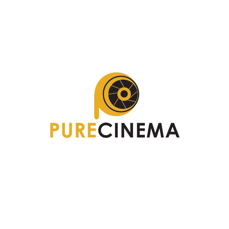 Logo Design by Private User - Entry No. 37 in the Logo Design Contest Imaginative Logo Design for Pure Cinema.