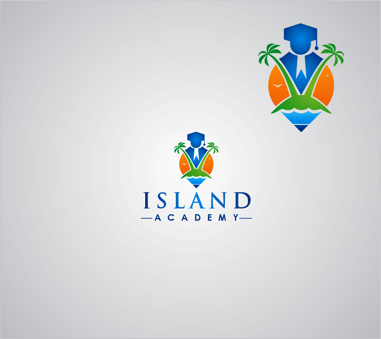 Logo Design by Armada Jamaluddin - Entry No. 90 in the Logo Design Contest New Logo Design for Island Academy.