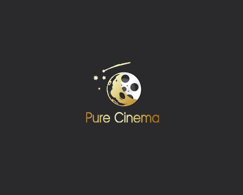 Logo Design by Fita Tiara Sani - Entry No. 40 in the Logo Design Contest Imaginative Logo Design for Pure Cinema.